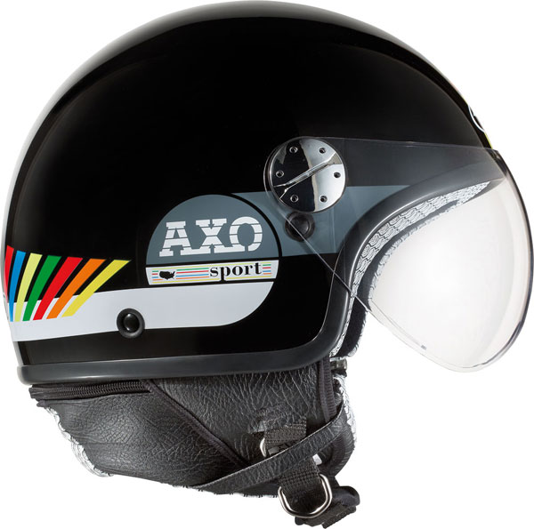Casco jet AXO Subway Multicolor