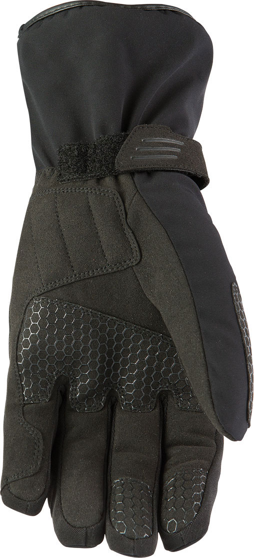 Winter Motorcycle Glove AXO North WP Black