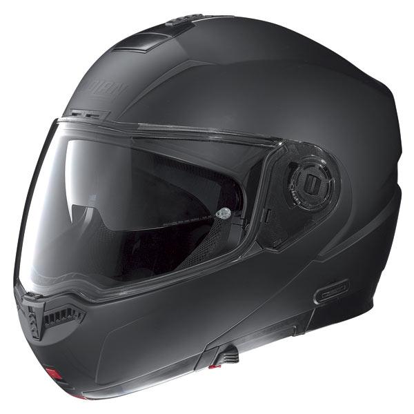 Casco moto Nolan N104 Classic N-Com nero opaco