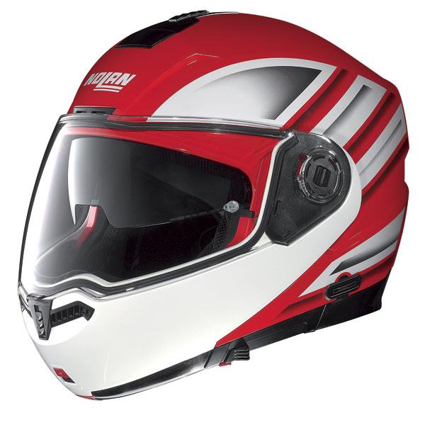Nolan N104 Voyage N-Com open-face helmet corsa red