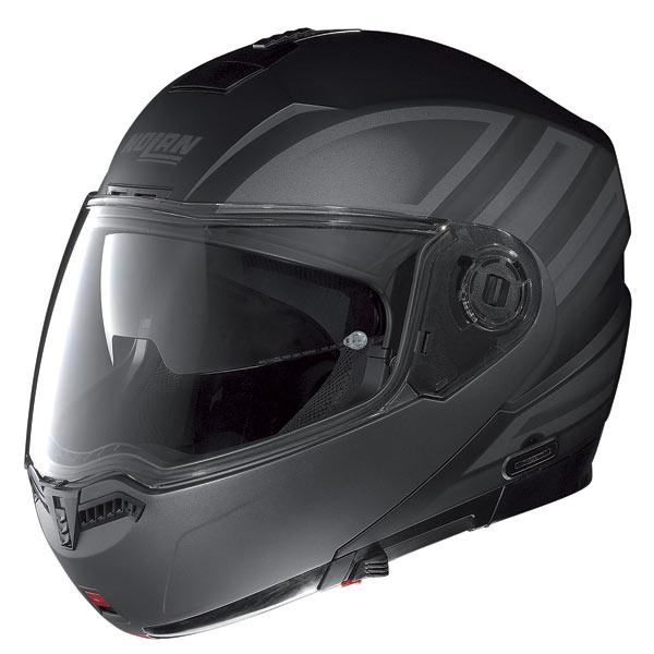 Nolan N104 Voyage N-Com open-face helmet flat black