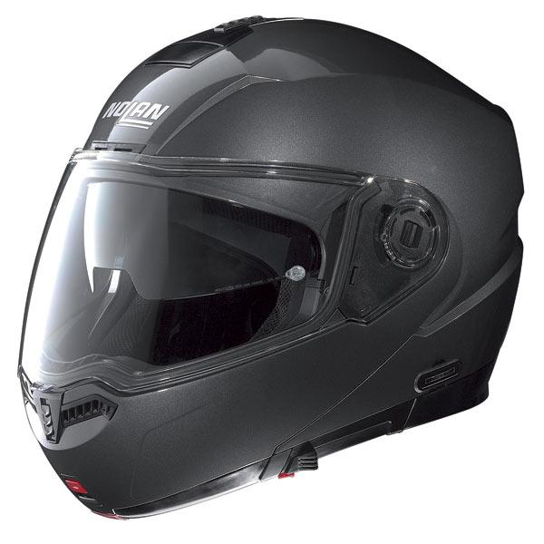 Casco moto Nolan N104 Classic N-Com lava grey