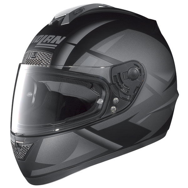 Casco moto Nolan N63 Impulse nero opaco