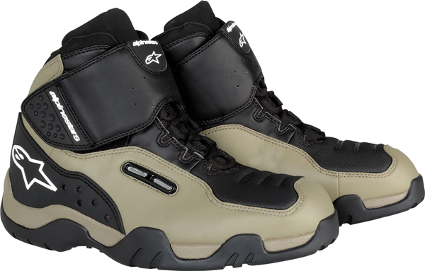 Alpinestars One-O-One motorcycle shoes sand-black