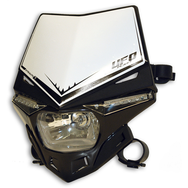 Ufo Plast Stealth headlight single-colour black