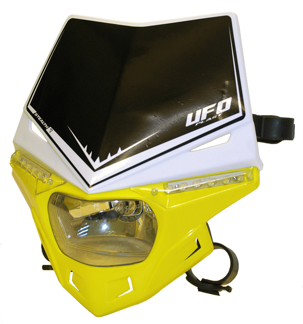 Ufo Plast Stealth headlight Dual colour white-yellow