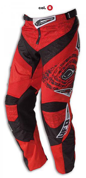 Pantaloni cross Ufo Plast Mx-22 rossi