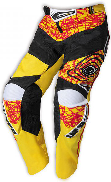 Ufo Plast Mx-22 Boy kid enduro pants yellow
