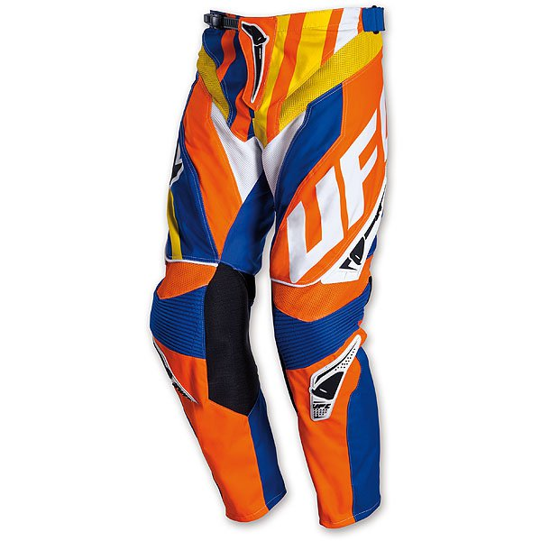 Ufo Plast Century cross trousers Blue Orange