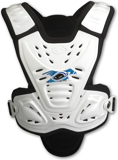 Ufo Plast Kids Valkyrie chest protector 2282 short version white