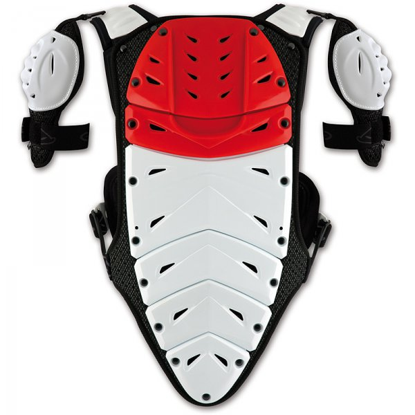 Ufo Plast Valkyrie 2 Chest protector with shoulders long red