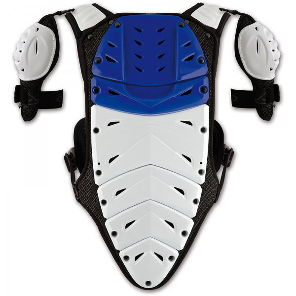 Ufo Plast Valkyrie 2 Chest protector with shoulders long blue