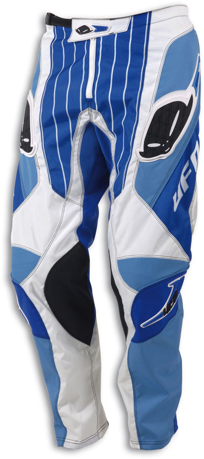 Pantaloni cross Pulse Ufo Plast blu