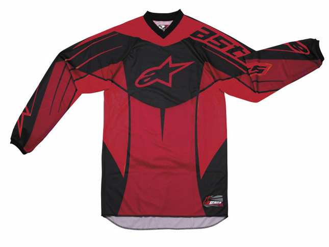Alpinestars Racer youth jersey red