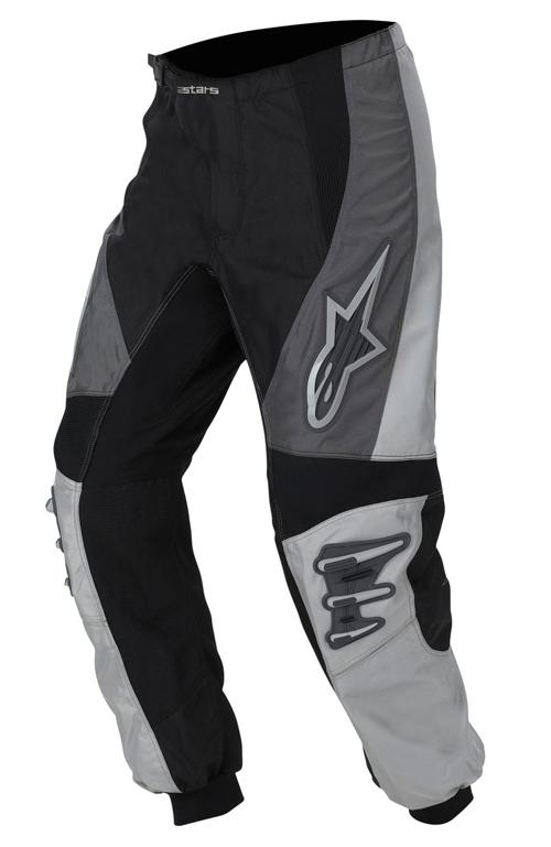 Pantaloni cross bambino Alpinestars Racer grigio