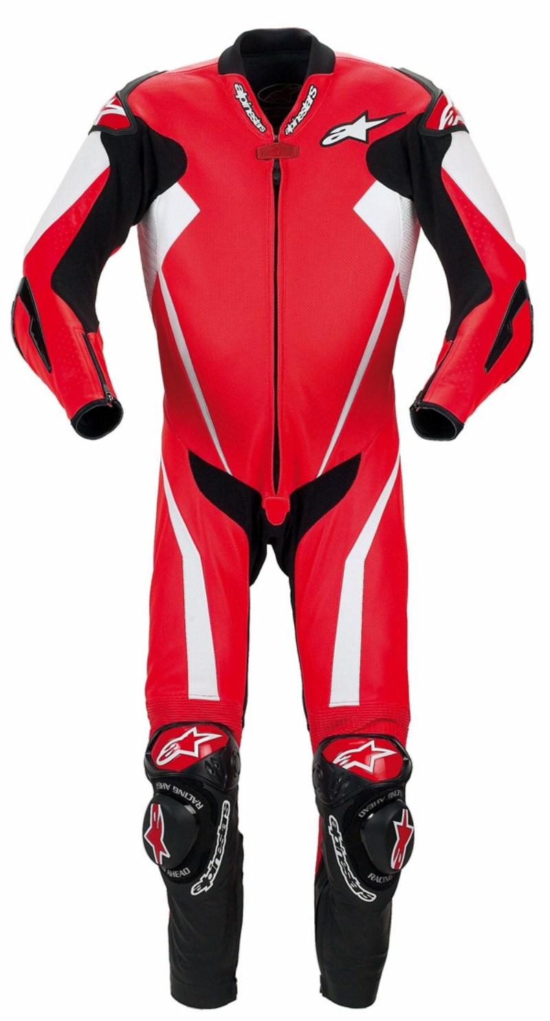 Tuta moto intera Alpinestars Racing Replica rossa