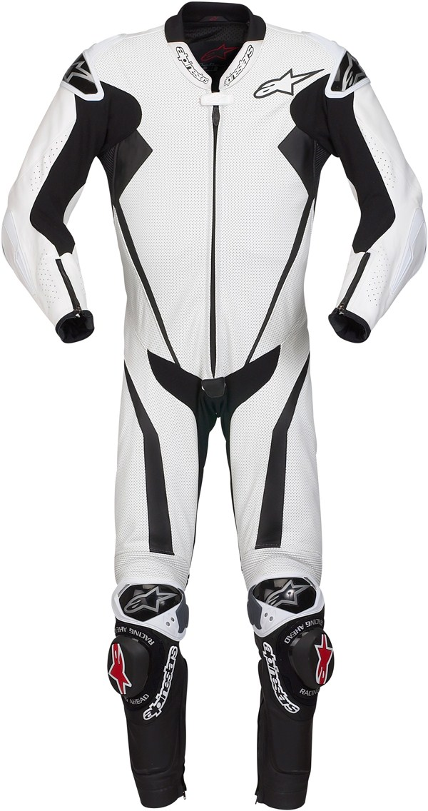 Alpinestars Racing Replica leather suit white