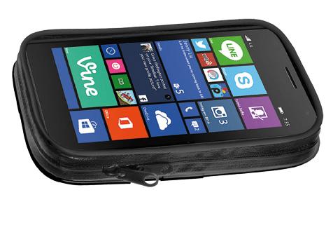 Supporto porta Smartphone manubrio tubolare 4.7 Cellular Line