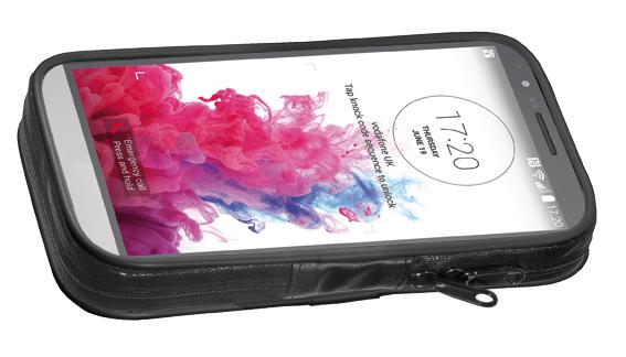 Supporto porta Smartphone manubrio tubolare 5.7 Cellular Line