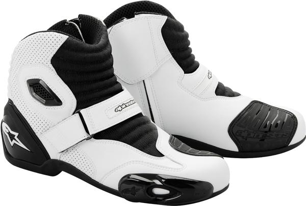 Scarpe moto Alpinestars S-MX 1 bianco-nere