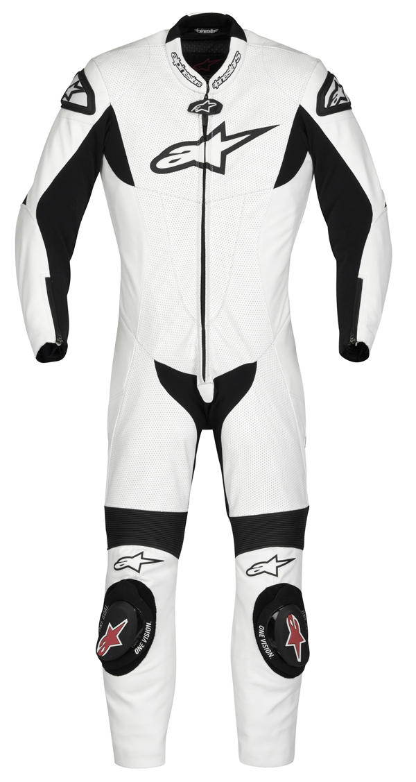 Alpinestars SP-1 leather suit white