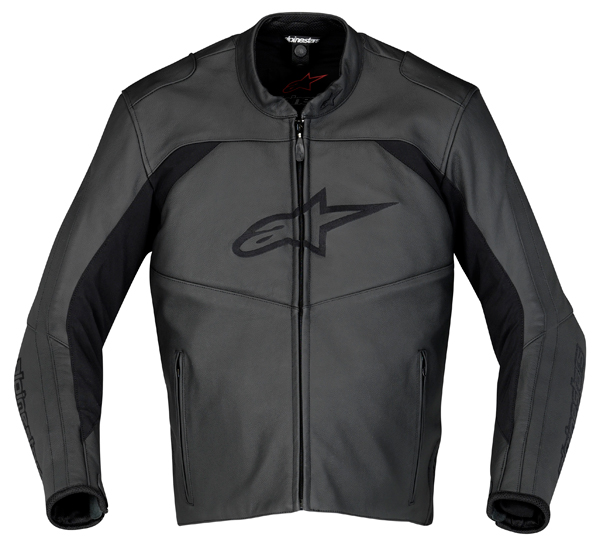 Alpinestars SP Leather motorcycle jacket black