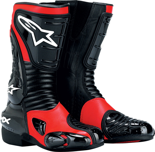 Alpinestars Stella S-MX 3 women's boots red