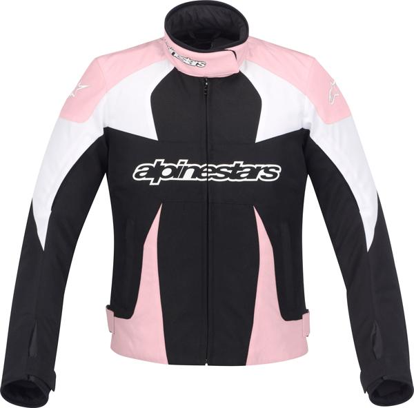 Giacca moto donna Alpinestars Stella T-GP Plus nero--rosa-bianca