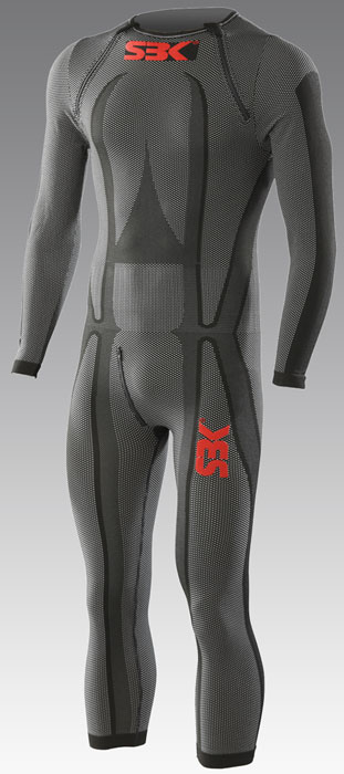 SBK by Sixs long sleeved underwear Black