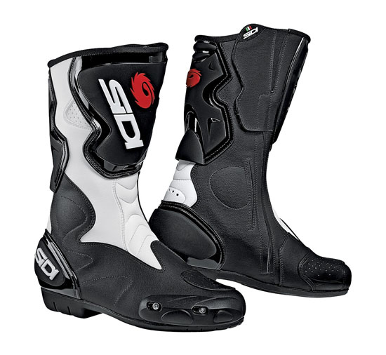 SIDI Fusion Racing Boots - Col. Black/White