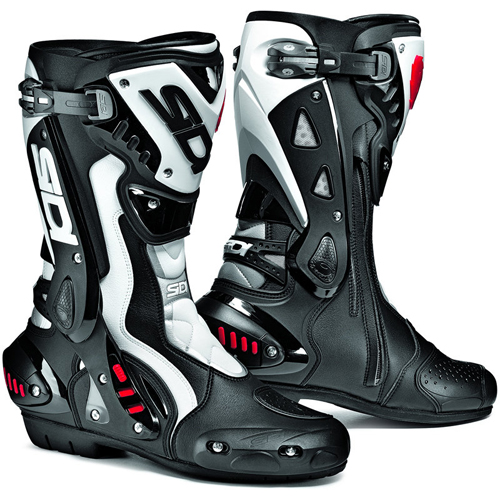 SIDI ST racing motorcycle boots black-white