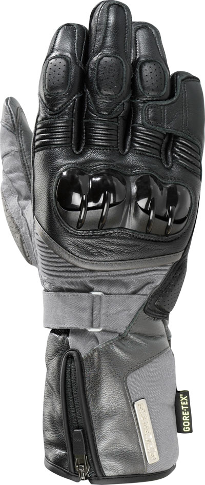 Alpinestars Tech Road Gore-Tex leather  gloves black-grey