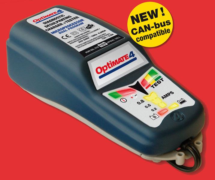 Carica Batteria Moto - Auto TecMate Optimate 4 Dual Program