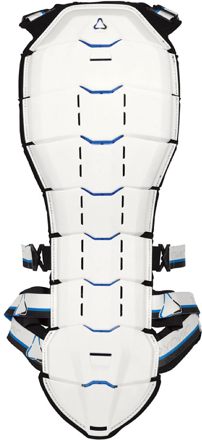 Tryonic back protector See+ CE Level white-blue