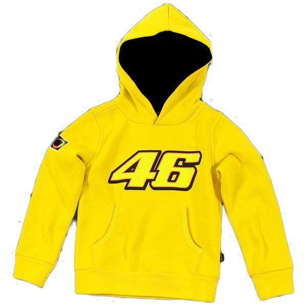 VR46 kid hooded fleece