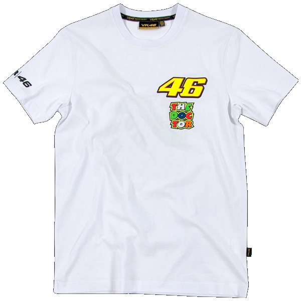 T-shirt VR46 2 logos