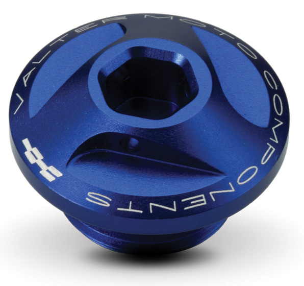 Oil Cap for BMW S 1000 Extreme Valtermoto RR Indaco