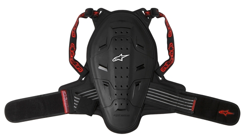 Protezione schiena bambino Alpinestars Youth Bionic nera