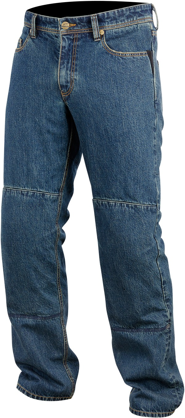 Pantaloni denim Alpinestars Ablaze Tech indigo washed