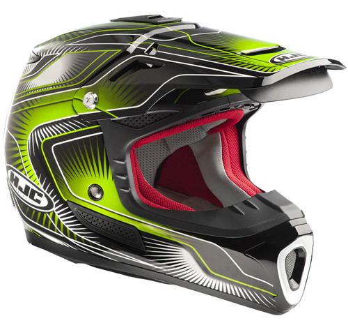 Casco moto cross HJC ACMX Aura MC4