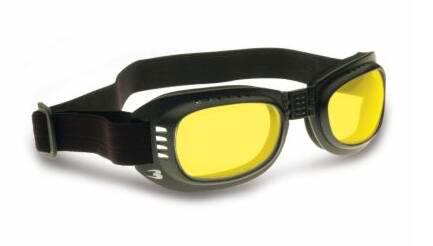 BERTONI AF110E Motorcycle Anti-Fog Goggles