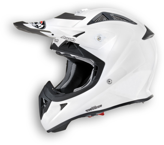Airoh Aviator Junior Color helmet white pearl