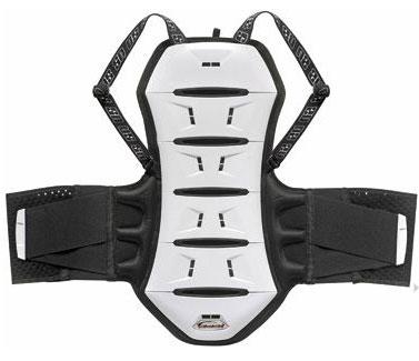 Protezione schiena Ultimate Stuff Akira 6 vertebre Bianco