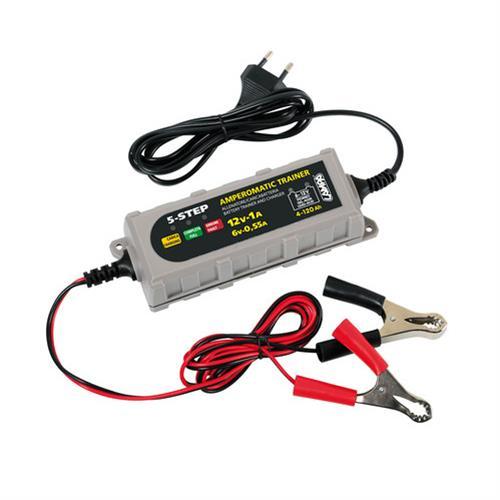 Allenatore batterie Amperomati 12V Lampa