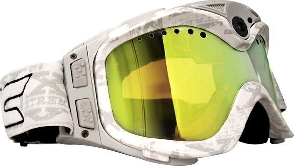 Occhiali Liquid Image con videocamera All-Sport HD bianchi