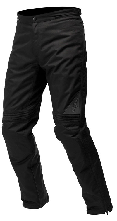 Sopra-pantaloni moto Alpinestars Jet Road impermeabili neri