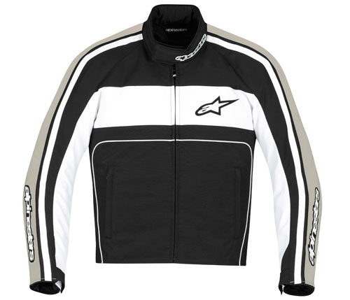 Alpinestars T-Dyno Waterproof jacket black-white-sand
