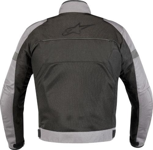 Giacca moto Alpinestars Xenon Air grigio chiaro-nera