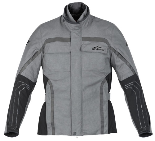 Giacca moto Alpinestars Excursion Gore-Tex grigio-antracite