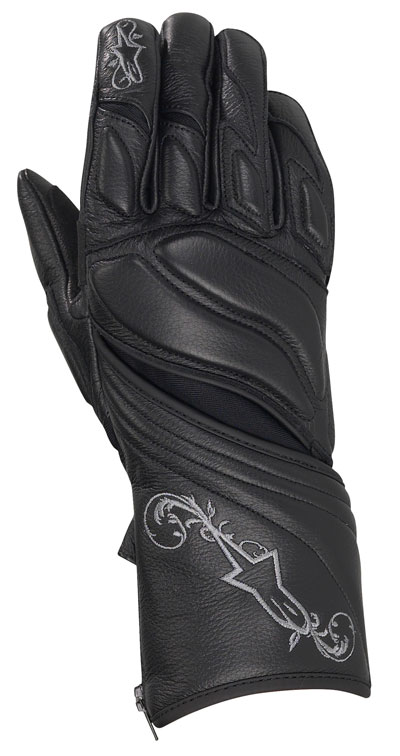 ALPINESTARS Stella Tyla women leather gloves col. black